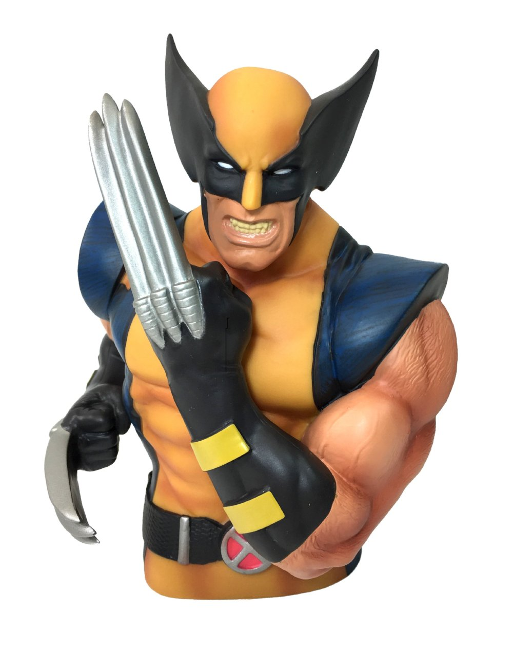 "Marvel Wolverine 7"" Coin/Bust Bank Christmas Birthday Gift"