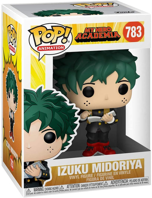 Funko Pop! Animation: My Hero Academia - Izuku Midoriya with School Uniform Vinyl Figure #783