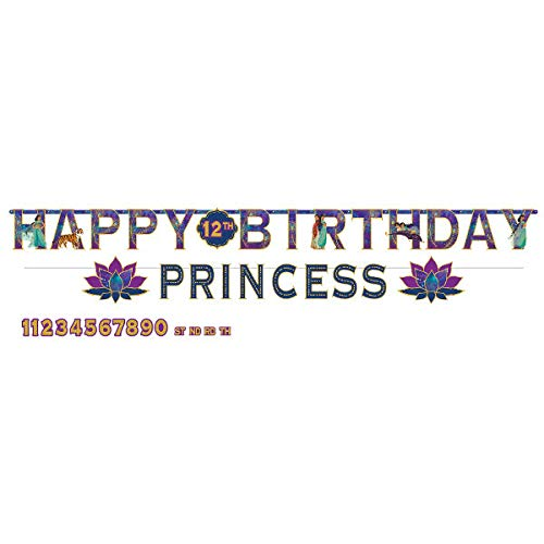 Aladdin Birthday Jumbo Banner Kit