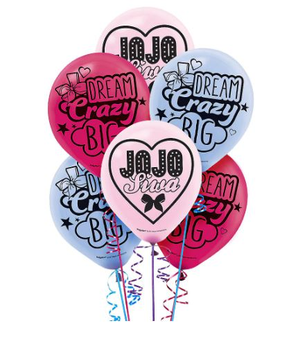 JoJo Siwa - Latex Balloons: 6ct