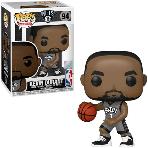 FUNKO POP! NBA: Brooklyn Nets - Kevin Durant (Alternate) #94 Vinyl Figure