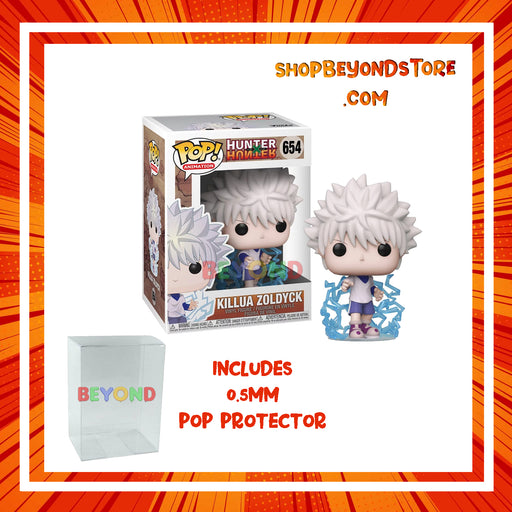 Funko POP! Anime - Hunter X Hunter -  Killua Zoldyck Pop! Vinyl Figure w/ Protector Case