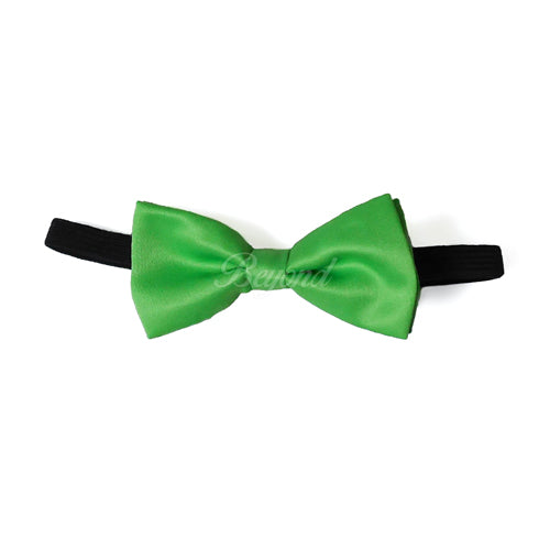 Kids Toddler Light Green Matching Set Suspender and Bow Tie