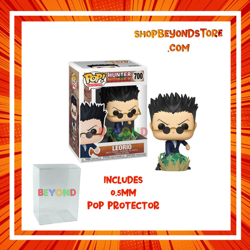 Funko POP! Anime - Hunter X Hunter -  Leorio Pop! Vinyl Figure w/ Protector Case