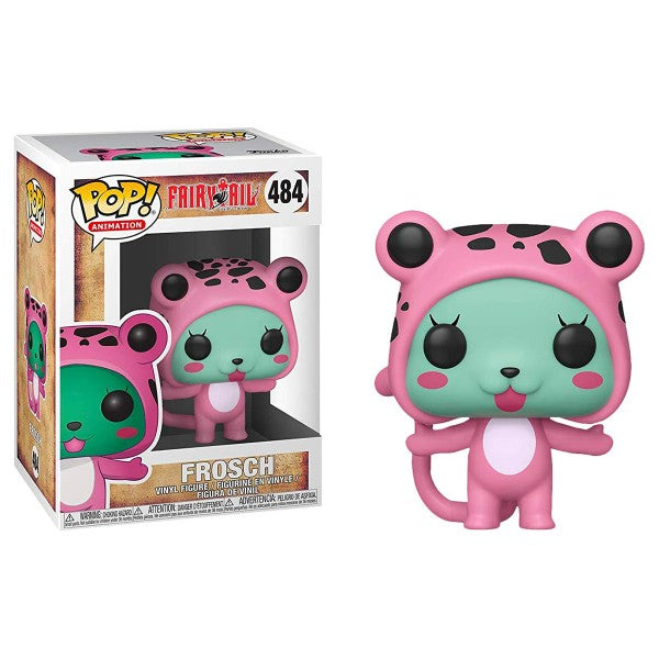 Funko POP Animation - Fairy Tail Anime -Frosch #484 Vinyl Figure w/ POP Protector