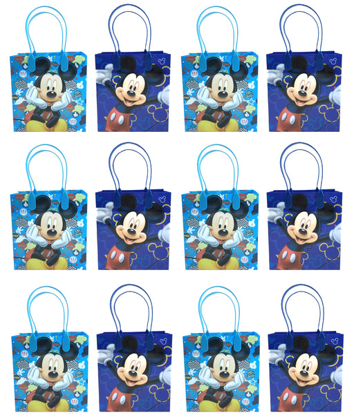 Disney Mickey Mouse Goody Bags Party Favors Gift Bags