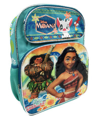 "Disney Moana & Maui 16"" Canvas Backpack for kids"