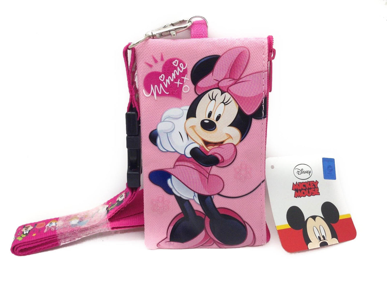 Minnie Mouse Lanyard Card Holder