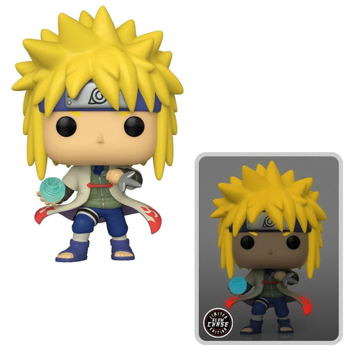 [PRE-ORDER] Funko  Pop! Naruto: Shippuden Minato Namikaze Rasengan Vinyl Figure - AAA Anime Exclusive CHASE+COMMON BUNDLE (SECOND SHIPMENT)