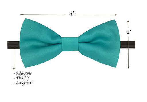 Kids Bow Ties - Toddler Mint Blue Bow Tie