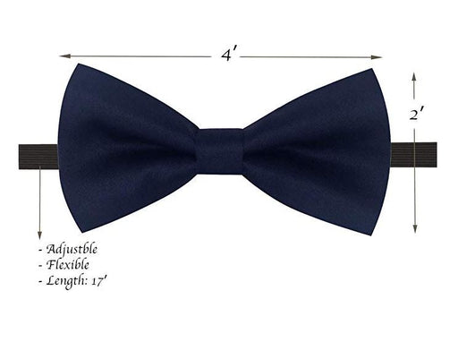 Kids Bow Ties - Toddler Navy Blue Bow Tie