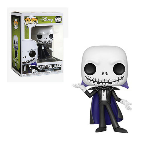 Funko Pop! Disney: Nightmare Before Christmas - Vampire Jack Skellington #598 with protector Case