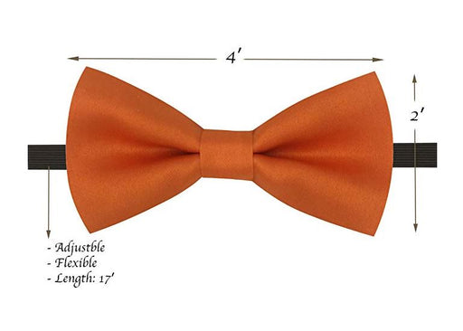 Kids Bow Ties - Toddler Orange Bow Tie