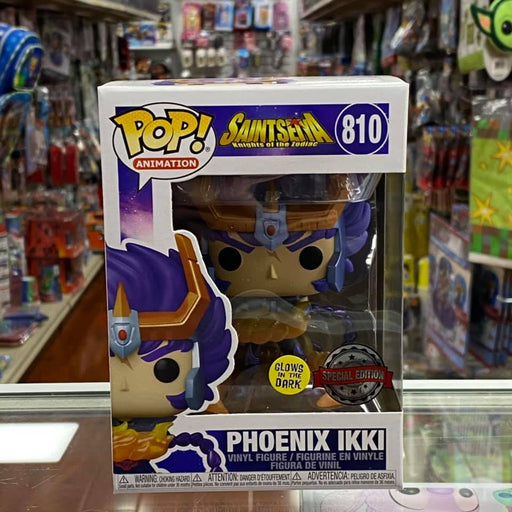 Funko POP! Animation: Saint Seiya - PHOENIX IKKI Vinyl Figure Glow in the Dark (Special Edition Sticker Exclusive)