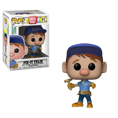 Funko Pop Disney Wreck it Ralph 2 - Fix it Felix #11 Vinyl FIgure