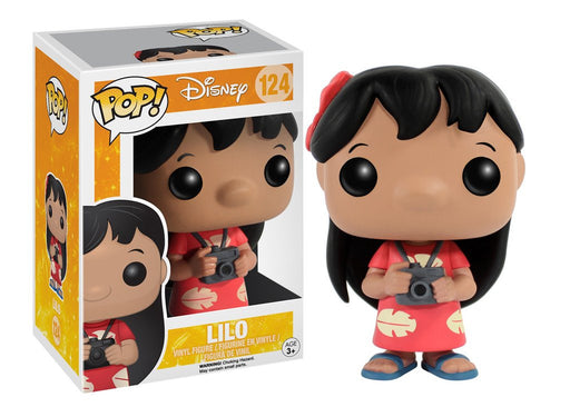 Pop! Disney: Lilo And Stitch - Lilo #124 come with .5mm pop protector case