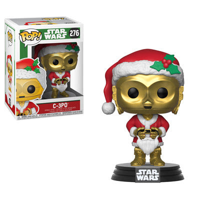 POP Holiday - Star Wars - Santa C-3PO #276 Vinyl Figure