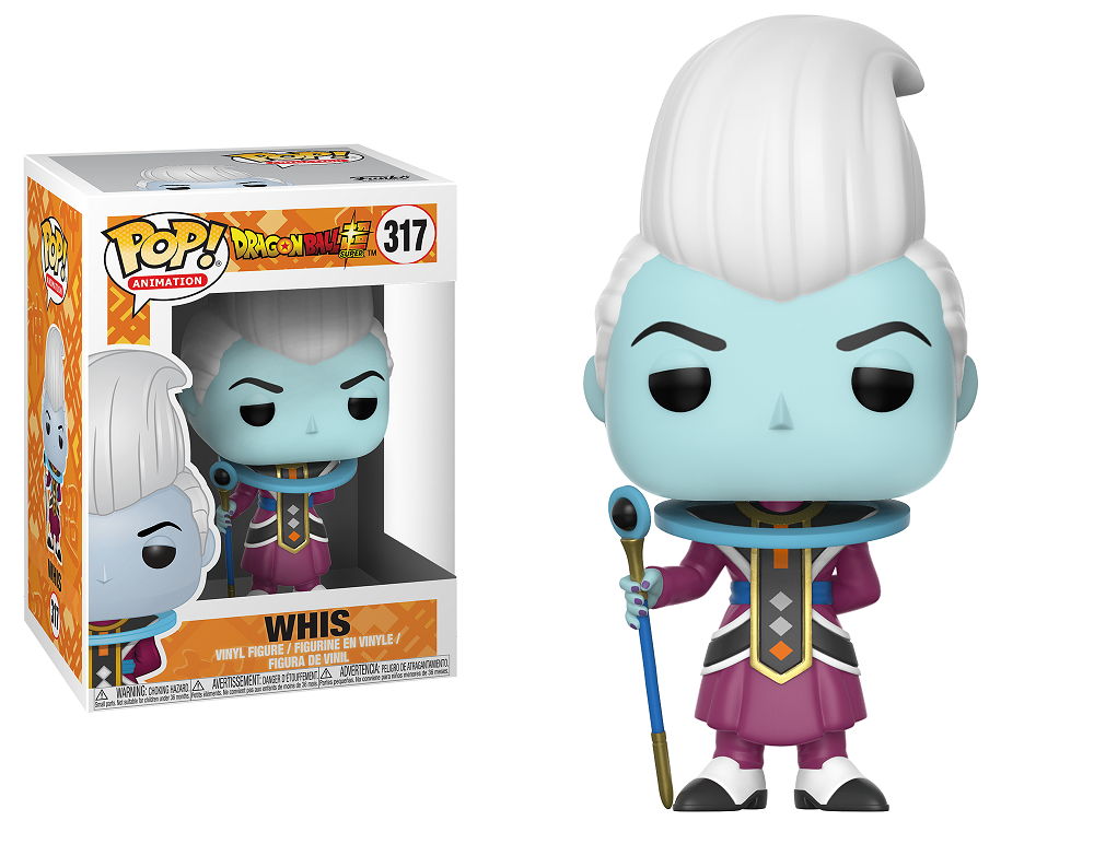 Pop! Animation : Dragonball Super - Whis #317 Vinyl Figure