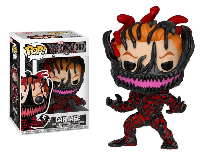 POP MARVEL VENOM - VENOM SET OF 5 Vinyl Figures