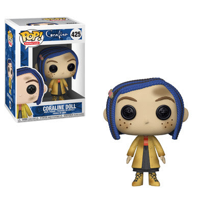 Pop Movies : Coraline : Coraline Doll #425 Vinyl