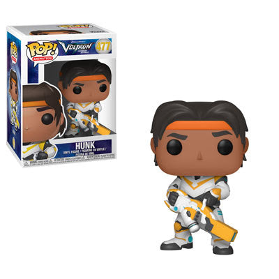 Pop Animation : Voltron : Hunk #477 Vinyl Figure