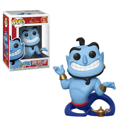 Funko Pop Disney Aladdin - Genie with Lamp #476 Vinyl Figure