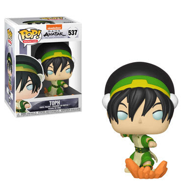 FUNKO POP Animation: AVATAR The Last Airbender : TOPH #537 Vinyl
