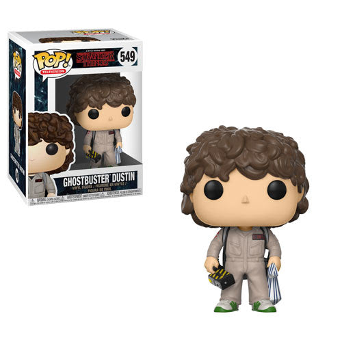 Pop! Television: Stranger Things 2 - Dustin Ghostbusters # 549 Vinyl Figure