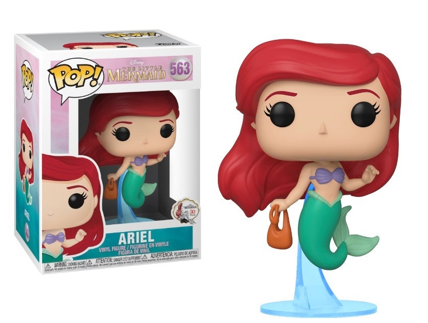 Funko Pop! Disney The Little Mermaid - Ariel with bag # 563 Vinyl Figure