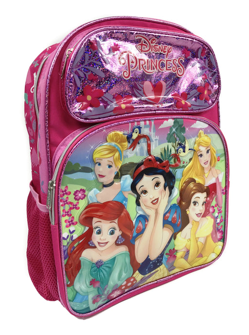 "Disney Princess 16"" Backpack for Girl"