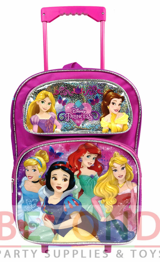 Disney Princess Rolling Backpack