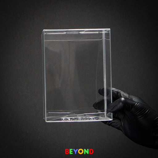 "Beyond .60mm Pop Protector Display Case for Funko Vinyl Figures Protector - Regular 4"" Size - Extreme Thickness"