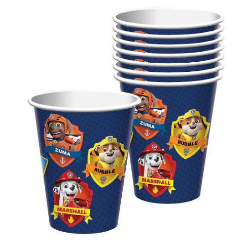 Paw Patrol Adventures Cups 8ct