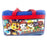 Paw Patrol Team Work! 600D Polyester Blue & Red Duffle Bag PVC with Side Panels