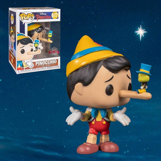 Funko POP! Disney Pinnochio with Jiminy Cricket #617 Special Edition Exclusive