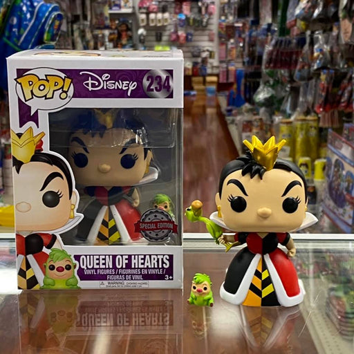 Funko Pop Disney Alice in Wonderland Queen of Hearts #234 Figure Special Edition