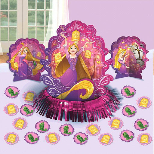 Disney Tangled Princess Rapunzel Assorted Table Decorating Kit Decoration Party Supplies
