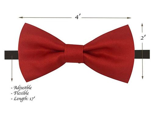Kids Bow Ties - Toddler Red Bow Tie