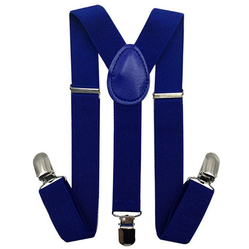 Kids Suspenders - Royal Blue Toddler Suspender