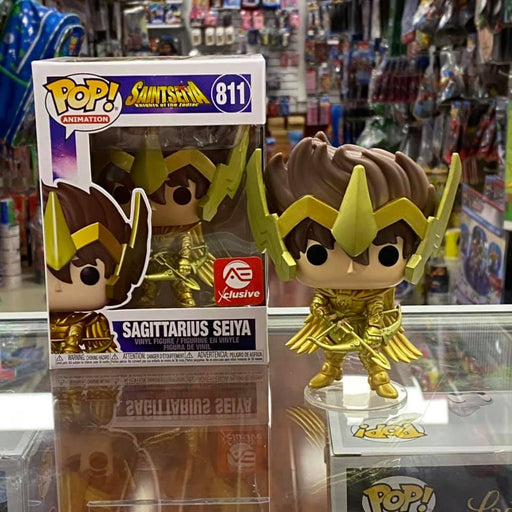 Funko POP! Animation: Saint Seiya - Sagittarius Seiya Vinyl Figure Gold (Alliance Entertainment Exclusive)