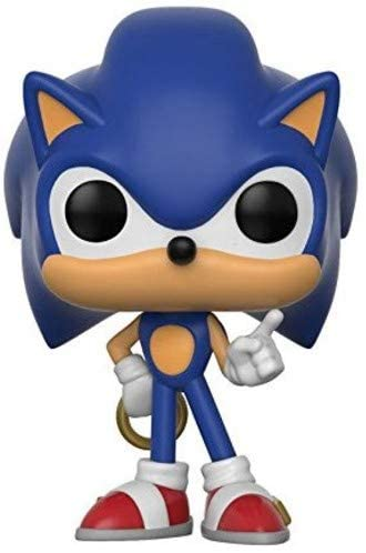 Funko Pop! Games: Sonic - Sonic with Ring Collectible Toy Vinyl Figure