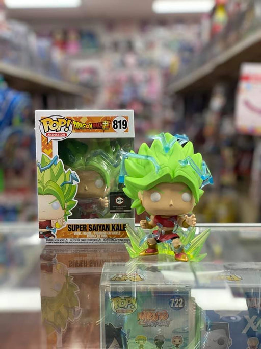 Funko Pop Dragon Ball Super : Super Saiyan Kale #819 Vinyl Figure Chalice Exclusive