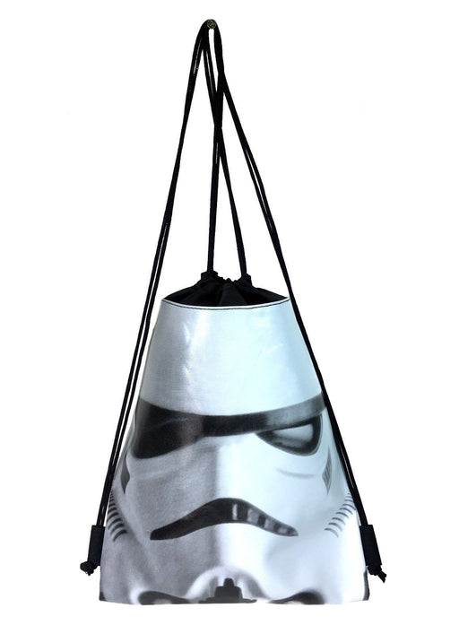 Star Wars Storm Trooper Drawstring Backpack School Sport  Gym Bag