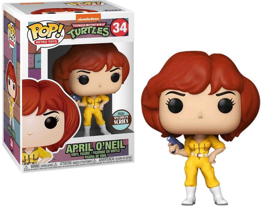 Funko Pop! Retro Toys: Teenage Mutant Ninja Turtles - April O'Neil Speciality Series #34 w/ Protector