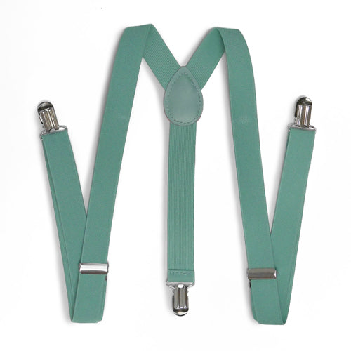 Mint Green Teal Suspender