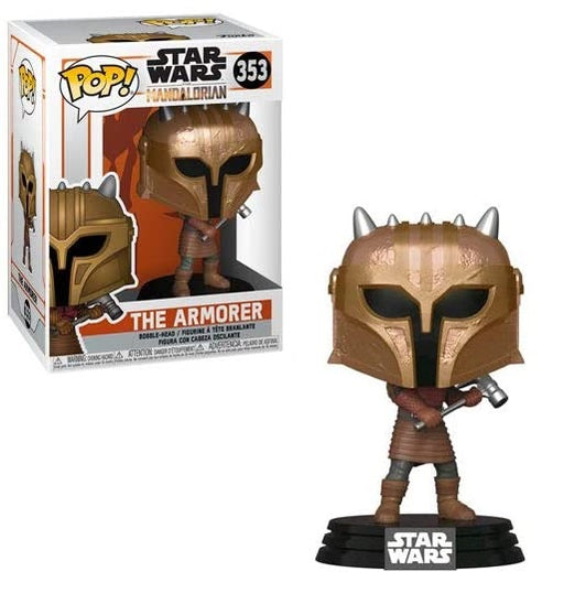 Funko Pop! The Mandalorian Star Wars: The Armorer Vinyl Figure #353
