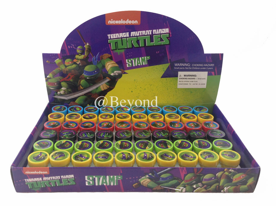 Teenage Mutant Ninja Turtles Stampers Party Favors