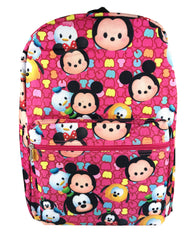 Tsum Tsum Allover Print Backpack - Pink