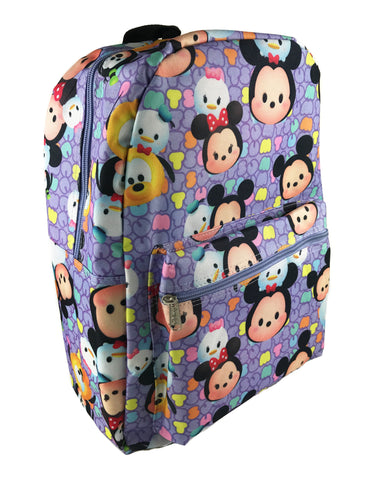 Tsum Tsum Allover Print Backpack - Purple
