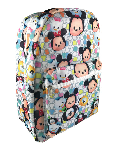 Tsum Tsum Allover Print Backpack - White